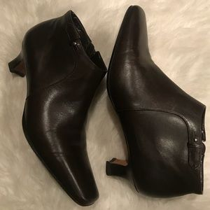 Talbots, Leather Booties
